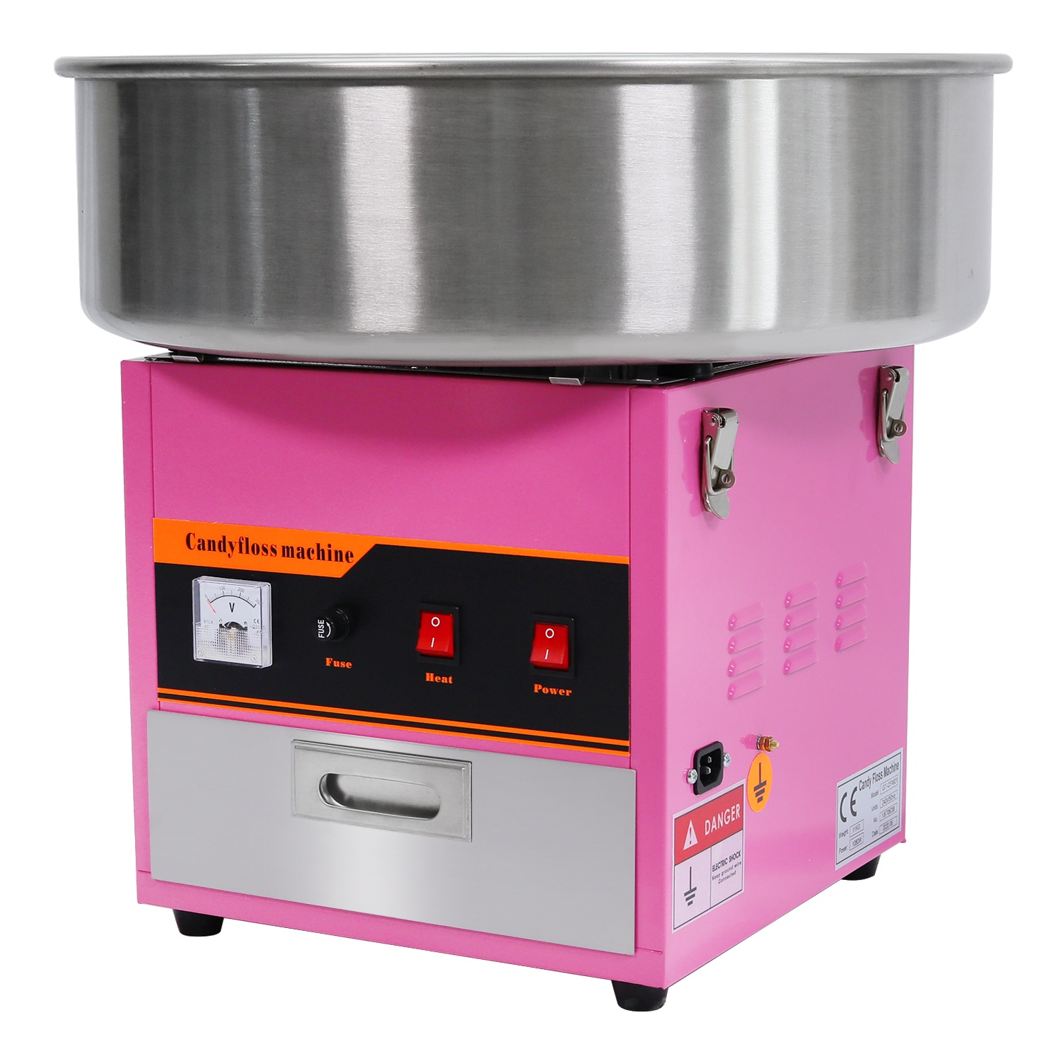 Commercial Cotton Candy Machine Fairy Floss Maker ...