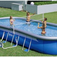 Volleyball Set for 9-12ft Wide Swimming Pool