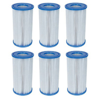 6x Bestway Filter Cartridge Size III 58012 for Swimming Pool 1500GPH Pump 58389
