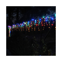200 LED Icicle Christmas Rope Light & Memory Multicolor