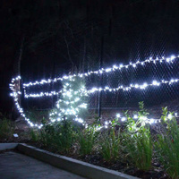24m 200 LED Christmas Fairy Light  Clear String White