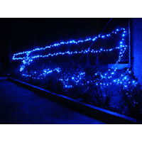 55M Long 500 LED Fairy Rope Christmas Light Ultra Blue