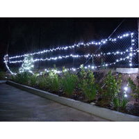 75m 700 LED Christmas Fairy Light Clear String White