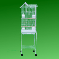 High House Top Bird Cage with Stand