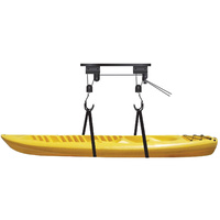 Garage Ceiling Mount Kayak Bicycle Canoe Hoist Lift Hanger