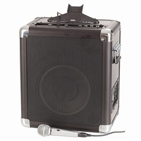 "10"" Portable Amplifier Speaker PA System with iPad iPhone Dock"