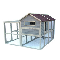 Flyline XL Superior Chicken Coop with Add on Run Predator Proof