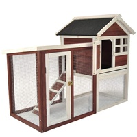 Flyline The Stilt House Rabbit Hutch Cage