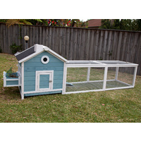 Flyline Garden Window Chicken Coop with Run