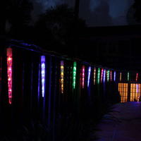 30Head LED Icicle Tube Christmas Light Multi Colour 24V