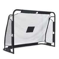 Portable Soccer Goal 180x120cm Football W/ Trainning Target Sheet Holes