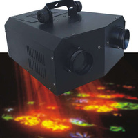 2 Head Sound Activated Gobo Disco Party Effect Light