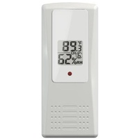 Weather Big Digit 8-Channel Wireless Thermo-Hygrometer with 4 Remote Sensor