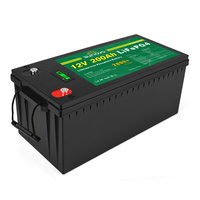 12V 200Ah Deep Cycle LiFePO4 Battery Rechargeable Lithium