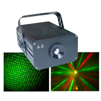 DMX 11-Channel RGY Laser Disco Light