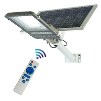 Sunovo 200W Solar Garden Pathway Street Light Adjustable Solar Panel