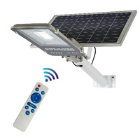 Sunovo 60W Solar Garden Pathway Street Light Adjustable Solar Panel