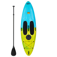 Hardshell SUP 10ft Stand Up Paddle Board with Fibre Glass Peddle
