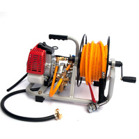 Garden weed sprayer Pump with motor & Hose Reel kit Pest Control