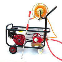 5.5HP Weed or Pest Control Spraying System with Piston Pump 50m Sprayer Hose Reel