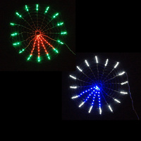 LED Clock Dial Effect Circle Light for Christmas Decoration Fairy Light
