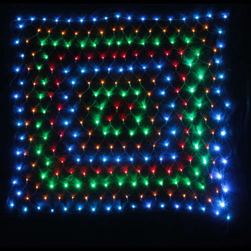 Led Lighting Warehouse Padstow: 256 LED FAIRY NET LIGHT W/ CONTROLLER CHRISTMAS 1.5M SQ